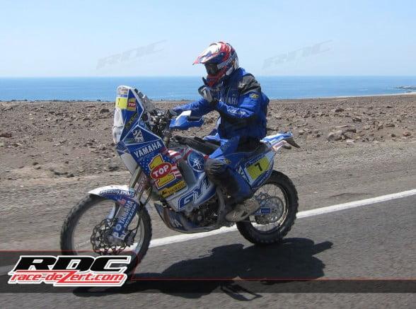Jonah Street, 2011 Dakar Rally