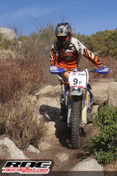 Bobby Garrison has gone from YAMAHA to HUSKY and now pilots the 5x of THR KAWI