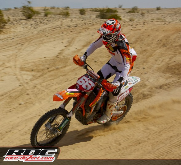 Caselli gets settled into the second loop of 2