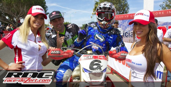 Colton and OX make a good team and pose a solid threat to the A team at JCR Honda