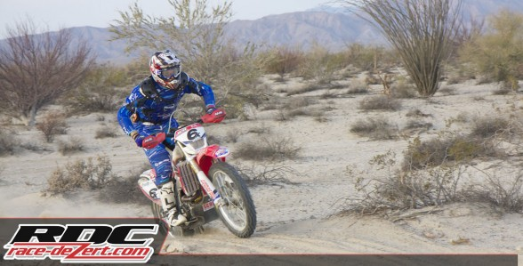 Colton settles in at race mile 19 and finished first at San Felipe, again