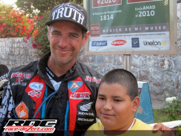 Here's a perfect example of how Johnny Campbell makes his difference in Baja