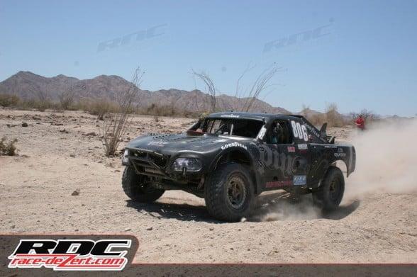 Overall 4 wheel vehicle winner Juan Carlos Lopez