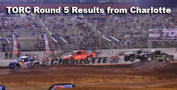 Torc charlotte round5 race dezert race for Dirt track at charlotte motor speedway