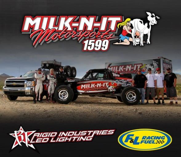 Milk-N-It Motorsports New Sponsors Rigid Industries & F&L Racing Fuel