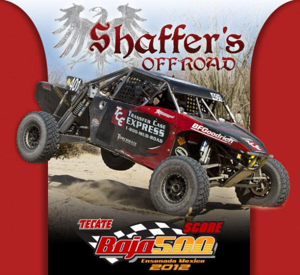 Shaffer Motorsports, Shaffer Off Road
