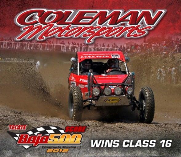 Coleman Motorsports Baja 500