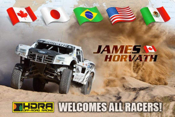 HDRA, International Off Road Race