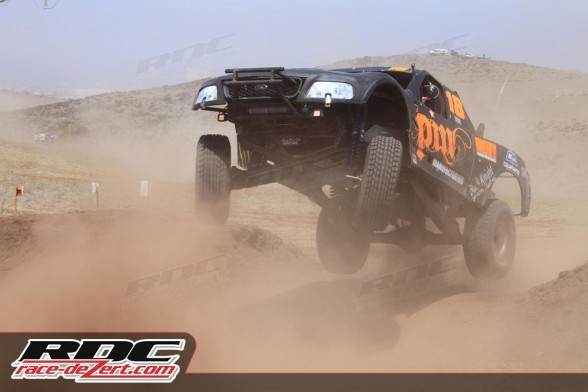 Apdali López conquered the Open Trucks driving the Ford F-150 of Team Pin Racing.