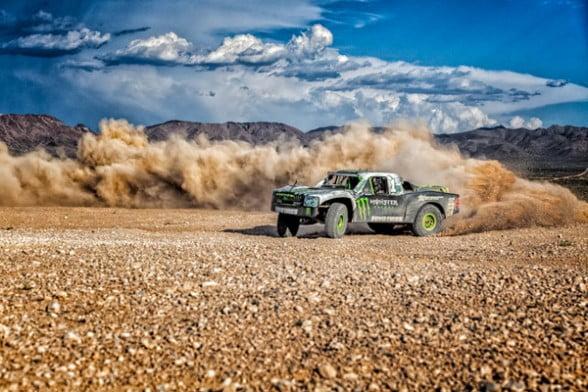 BJ Baldwin, Trick Truck, Off Road Racing, Roost