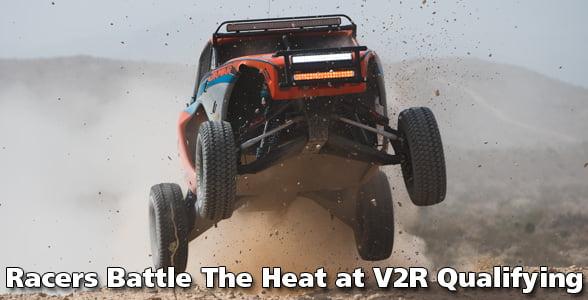 racers battle the heat at v2r qualifying race. Black Bedroom Furniture Sets. Home Design Ideas