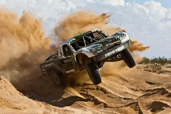La Desert Race Car