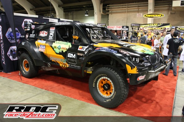 All German Motorsports brought their Trophy Truck after a week long test in San Felipe getting ready for the 45th running of the SCORE Baja 1000.