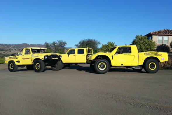 HRT Motorsports Trophy Truck, Trick Truck, Rigid Industries