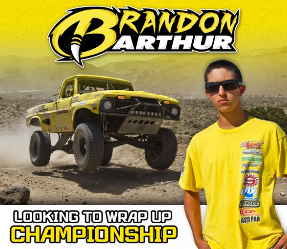 Brandon Arthur, HDRA, Competitive Metals, HRT Motorsports, Rigid Industries