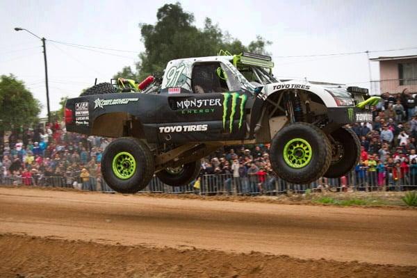 BJ Baldwin Monster Energy Toyo Tires Trophy Truck