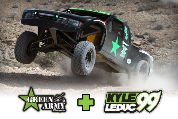 Justin Davis & Kyle Leduc Trophy Truck