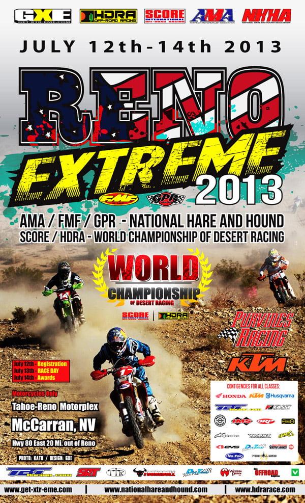 2013 Reno Extreme NHHA