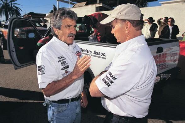 Sal Fish and Parnelli Jones
