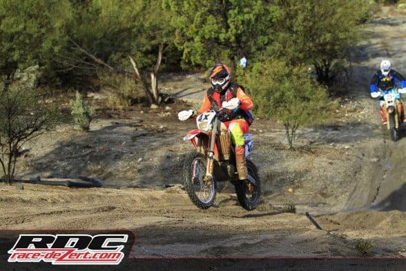 Brandon Prieto won the overall at both summer and winter editions of the Ensenada-San Felipe 250.