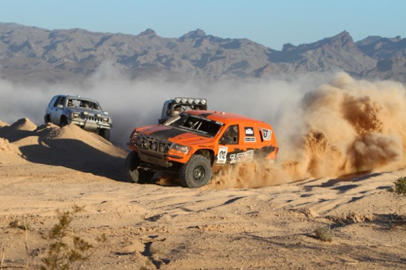Jeepspeed's Battle it out at BITD Race