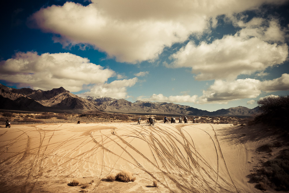 Its a 3 day adventure rallying around Death Valley