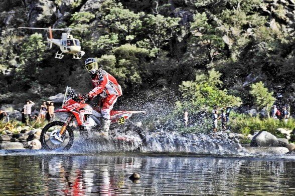 Johnny Campbell is helping to spread DAKAR fever, in a good way.