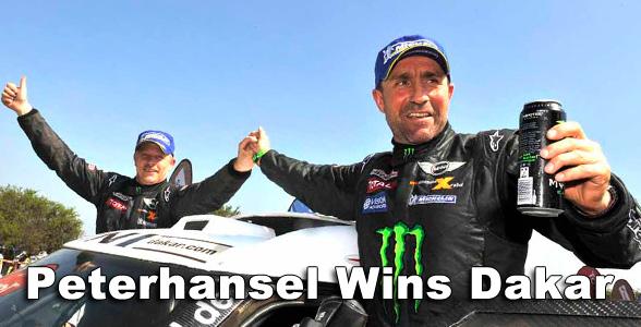 Peterhansel wins Dakar 2013