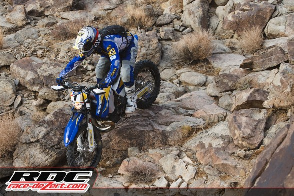 Graham Jarvis is considered the top extreme enduro rider in the world. A failed rear tire insert spoiled his chance to keep his crown in the US. He says he is coming back