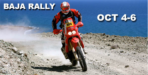 The BAJA RALLY is the first of its kind in BAJA CA