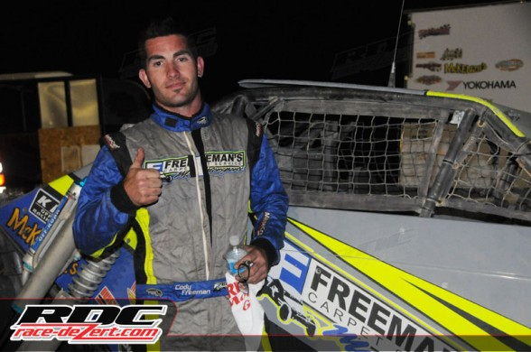 Cody Freeman came in 2nd overall behind TJ Flores