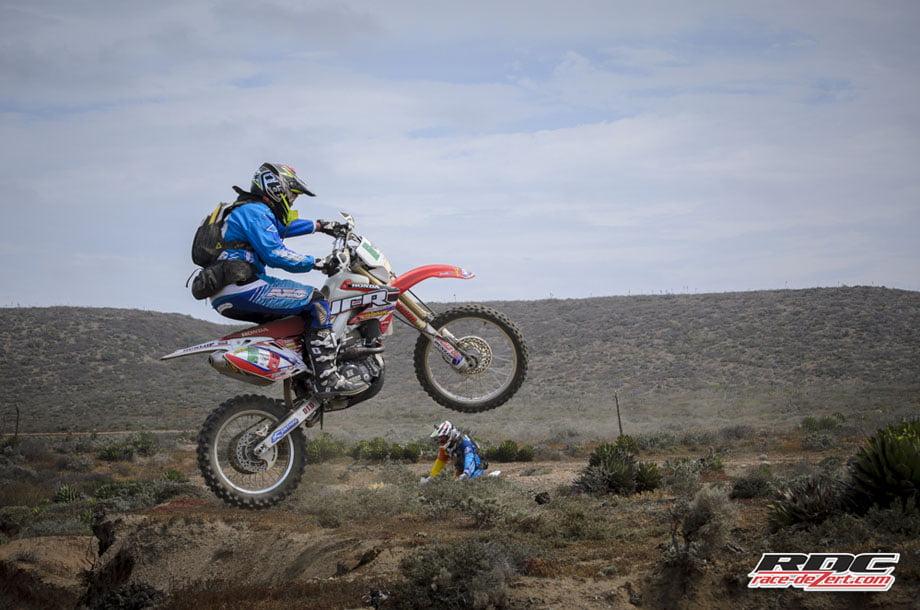 """Brap Brap""...This Bash Rider launches out of a ditch near Cuatros Casas."