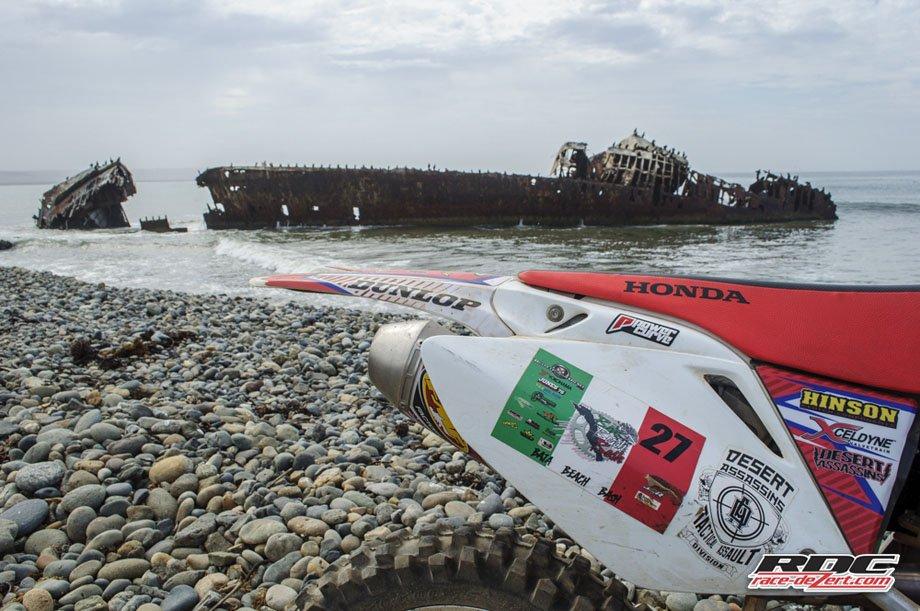 The Ship Wreck at Punta San Jacinto