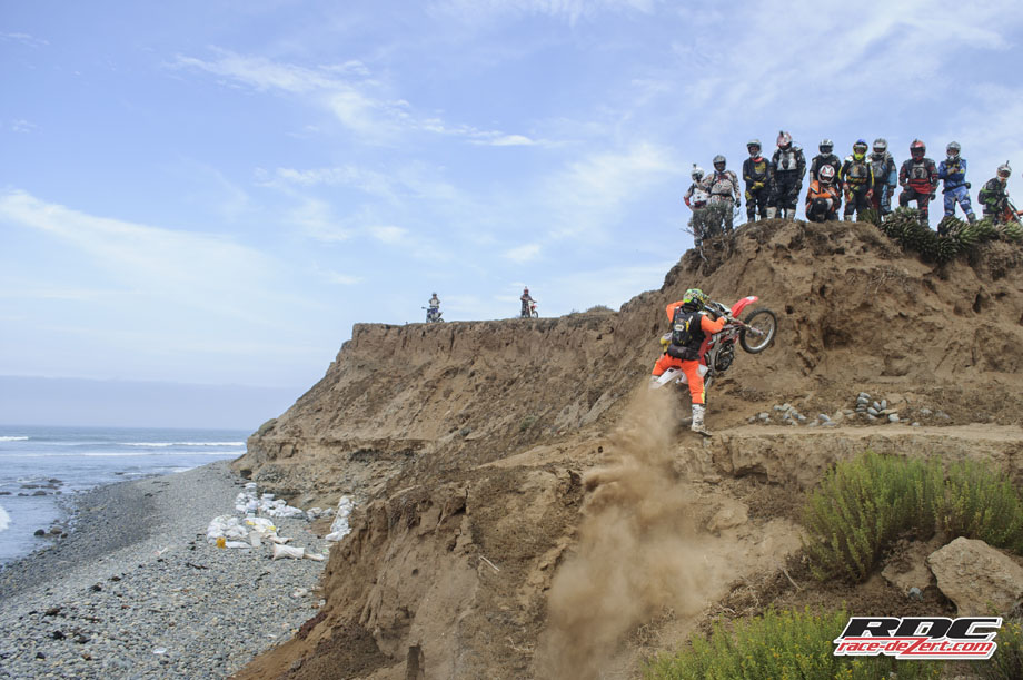 BASH Bos PAB launches off the beach at a secluded bluff south of Cuatros Casas