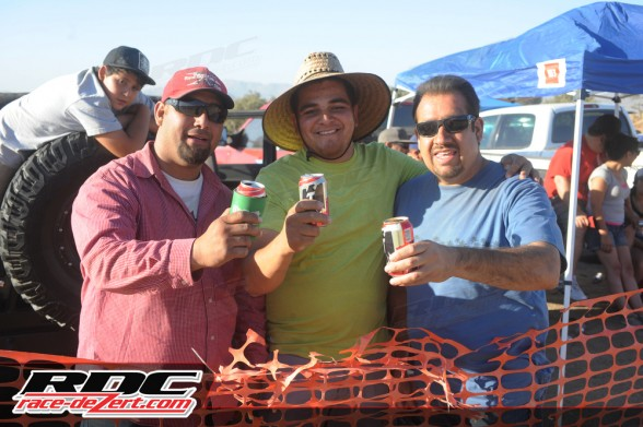 JCL fans toast to their favorite racer.