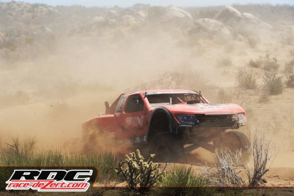 Juan Carlos Lopez was having an epic run until a mechanical problem took him out of the race.