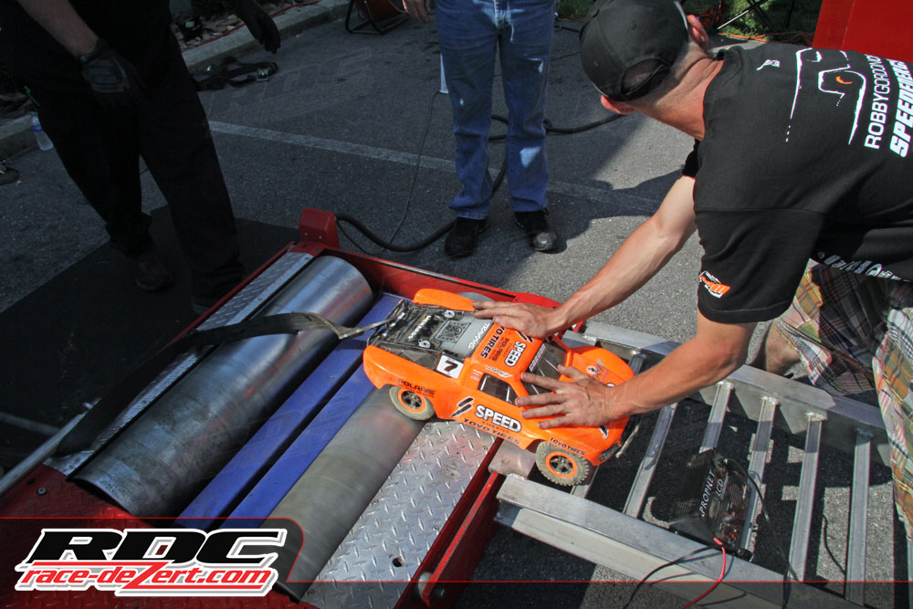 Traxxas RC action was intense on the track and on the dyno!