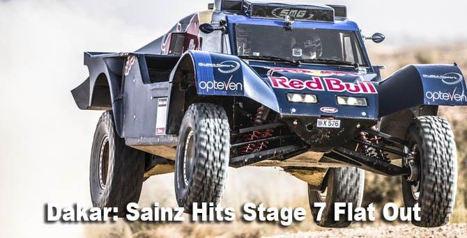 Dakar 2014 Stage7 Carlos Sainz