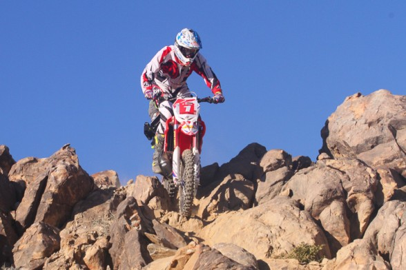 Cody Webb had the fastest tim in qualifying with just over 3 minutes to complete the 1 mile loop.