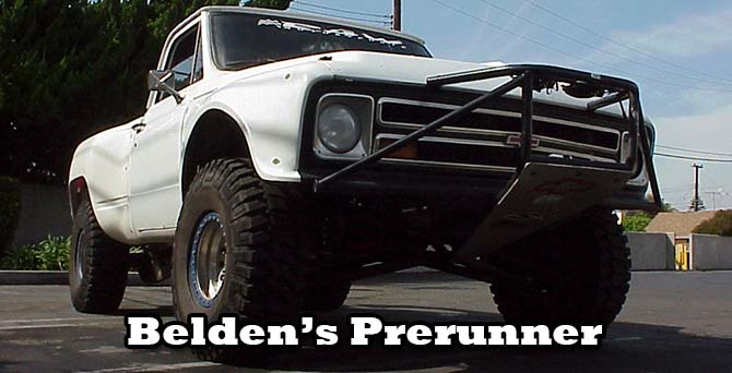 Feature Vehicle Belden Prerunner on Chevy Straight Six Engine Race