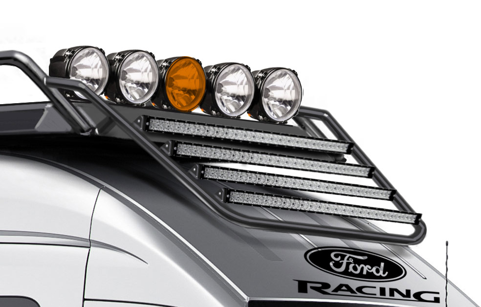 VORE_off-road_FORD_transit_van_lights