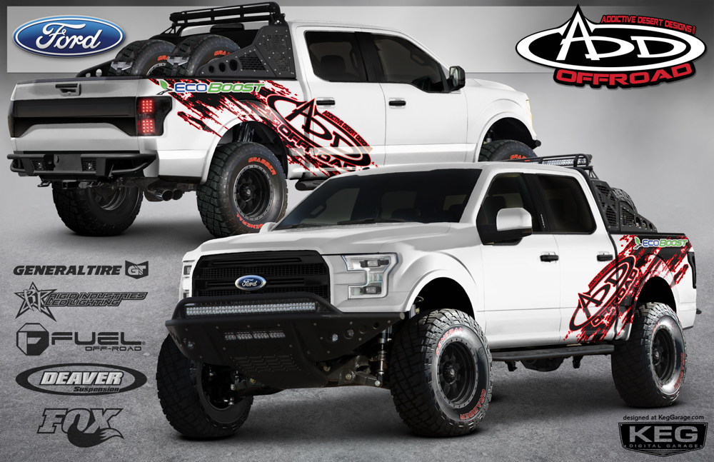 2015 f150 raptor replacement race. Black Bedroom Furniture Sets. Home Design Ideas