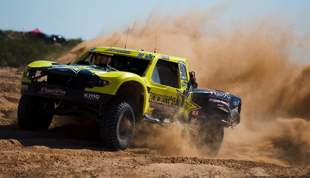 Josh Daniel Earns First Win With New Twin Turbo Trophy Truck at ...