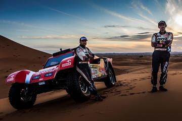 Adam Malysz Red Bull Dakar PR