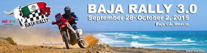 Baja Rally 3.0 PR Logo