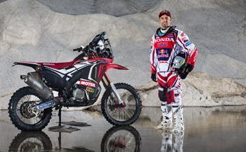 Helder Rodrigues Red Bull Dakar PR