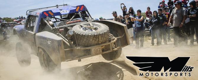 Mills Motorsports Header PR