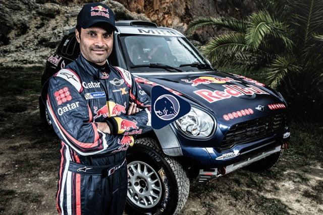 Red Bull Nasser Dakar PR