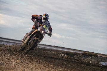 Sam Sunderland Red Bull Dakar PR