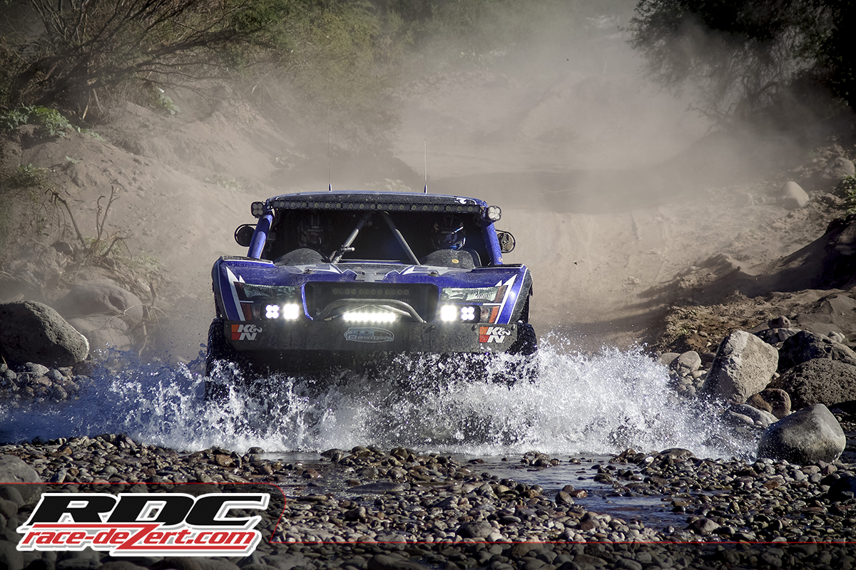 Running strong to the finish at the 2014 Baja 1000